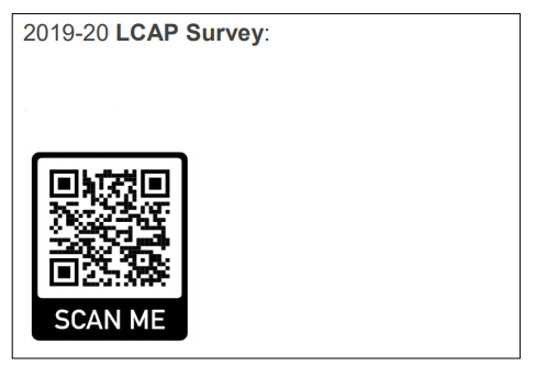 LCAP English Survey QR Scanner Code