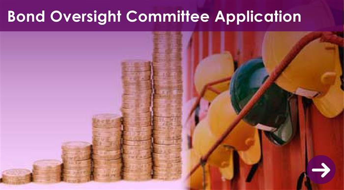 Bond Oversight Committee Application