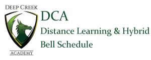 DCA Hybrid/Distance Learning Bell Schedule (School Re-opening Update)