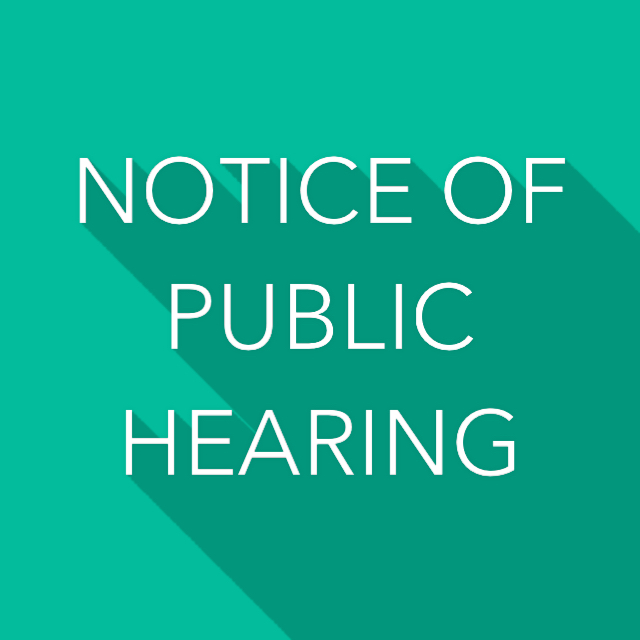 Public Hearing Notice - Sufficient Textbooks