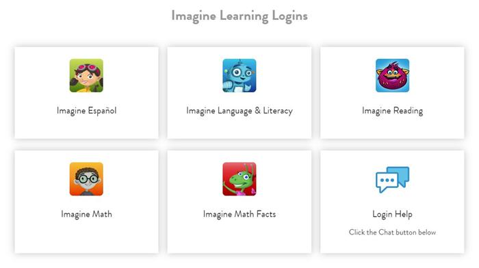 Imagine Learning at Home Portal