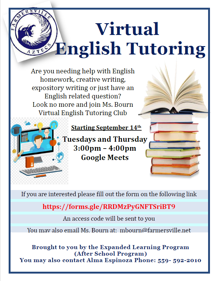 Virtual English Tutoring