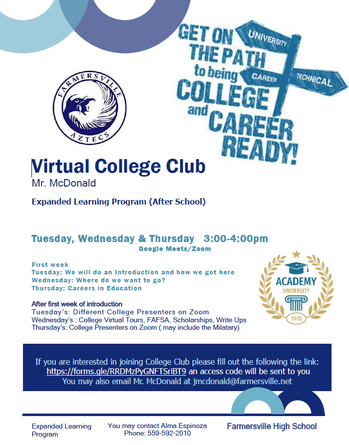 Virtual College Club